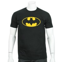 Tee Shirt Batman Logo Noir - LaBoutiqueOfficielle.com