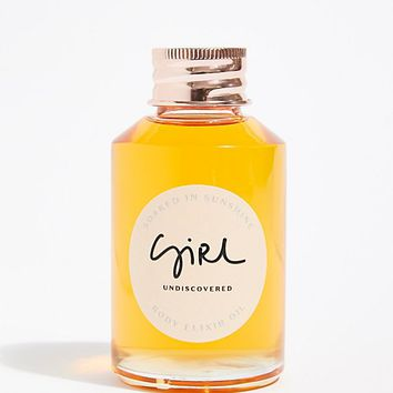 Girl Undiscovered Soaked In Sunshine Body Elixir Oil