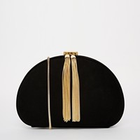 Ted Baker Round Tassel Zip Clutch Bag