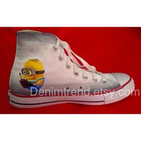 Minion Shoes  Converse by denimtrend on Etsy