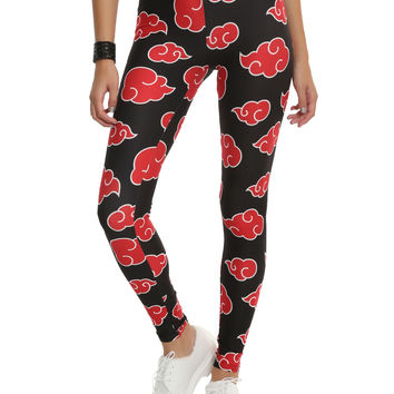 Naruto Cloud Leggings