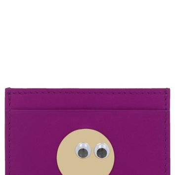 Sophie Hulme 'Roseberry' Leather Card Holder | Nordstrom