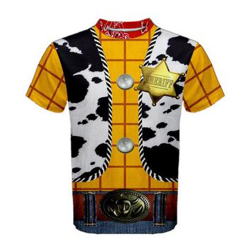 Men's Woody Toy Story Inspired ATHLETIC Shirt