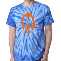 "TIE DYE Steven Adams Oklahoma City Thunder ""Fear The Stache"" T-Shirt ADULT 2XL"