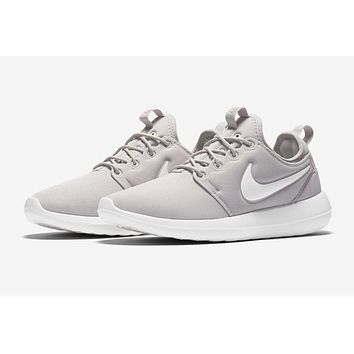 Nike Roshe Two Run 2 Men Women Running shoes Color Grey 0ffbb04df951