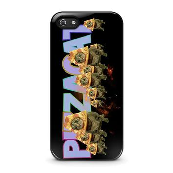 pizza cat 3 iphone 5 5s se case cover  number 1