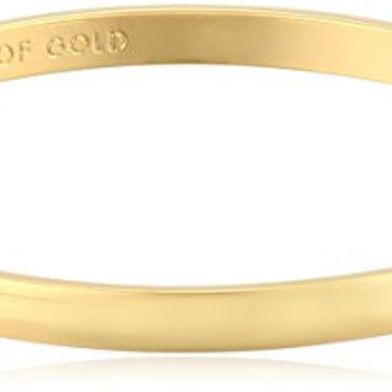 "kate spade new york Idiom Collection ""Heart of Gold"" Bangle Bracelet, 7.75"""