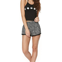 LA Hearts Smocked Crochet Trim Soft Shorts at PacSun.com