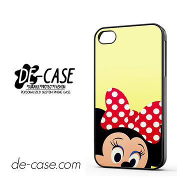 Minnie Mouse Face DEAL-7340 Apple Phonecase Cover For Iphone 4 / Iphone 4S