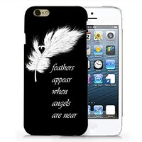 SUPERTRAMPshop - Feather Custom Cover Iphone 6 Full Protection Durable Hard Plastic Case