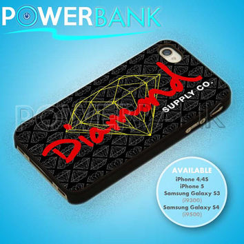 Diamond Supply Co Pattern - iPhone 4/4s/5 Case - Samsung Galaxy S3/S4 Case - Black or White