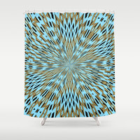 Infininty Shower Curtain by Stay Inspired | Society6