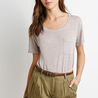 Belted Pleat-Front Shorts