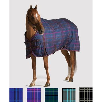 Pessoa 1200D Turnout Blanket with 300G Fill - Navy/Hunter