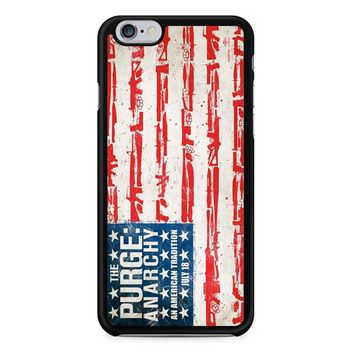 The Purge Anarchy Flag iPhone 6/6s Case