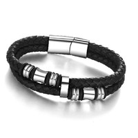 Men Bracelet Genuine Leather Bracelets