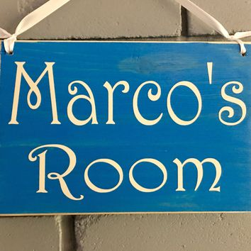 8x6 Custom Name Wood Sign
