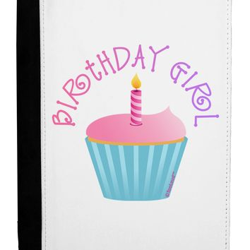 Birthday Girl - Candle Cupcake Ipad Mini Fold Stand  Case by TooLoud