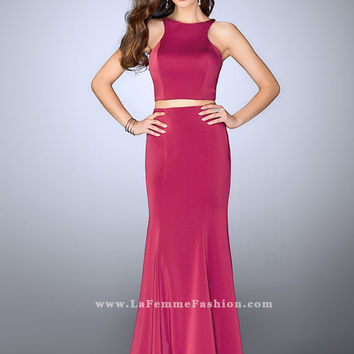 La Femme 24310 Two Piece Prom Dress