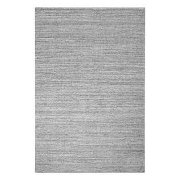 Midas Light Gray 9 X 12 Rug