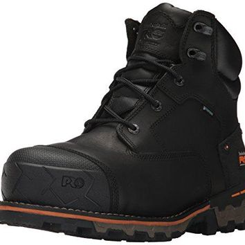 "Timberland PRO Men's Boondock 6"" Composite Toe Waterproof Industrial and Construction Shoe  timberland boots for men"