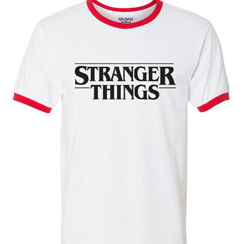 Stranger Things Ringer Tee Stranger Things tshirt