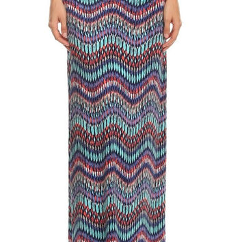 Sea Glass Maxi Skirt
