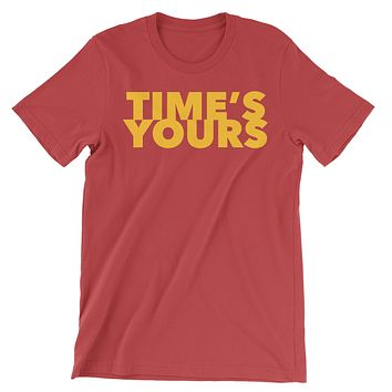 Big Red Time's Yours Unisex Jersey Short Sleeve Tee