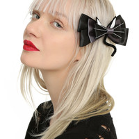 Black Cat Cosplay Hair Bow