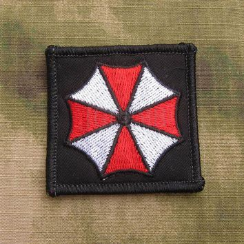 soft shell Resident Evil Umbrella Corporation Logo Military Tactical Morale Embroidery patch B3140