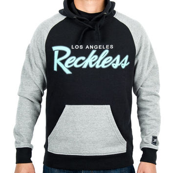 Young and Reckless OG RECKLESS PULLOVER HOODIE- BLACK