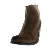 Diesel Womens Chelsea Show Beatly Suede Heels Ankle Boots