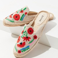 Soludos Ibiza Embroidered Floral Mule | Urban Outfitters