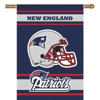 New England Patriots NFL 2-Sided Banner (28 x 40)