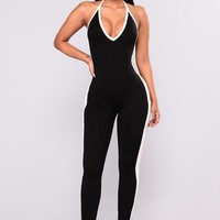 Common Grounds Jumpsuit - Black