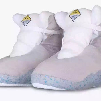 Indie Designs Back to the Future Air Mag Plush Slippers