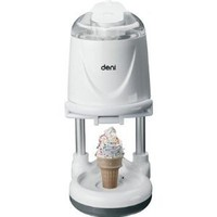 Amazon.com: Deni 1-Qt. Soft Serve 16W Ice Cream Maker, White (5540): Kitchen & Dining