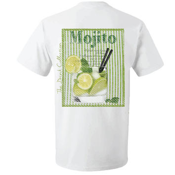Mojito Recipe Shirt By TheCottonCrest by TheCottonCrest on Etsy