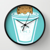 Hot Tub Cookie Wall Clock by Teo Zirinis