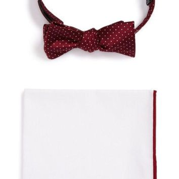 VONESL5 BOW TIE & POCKET SQUARE SET