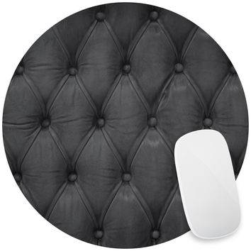 Black Tufted Mouse Pad Decal