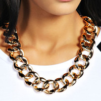 Hannah Chunky Chain Necklace