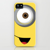 Minion iPhone & iPod Case by Bearded Manatee