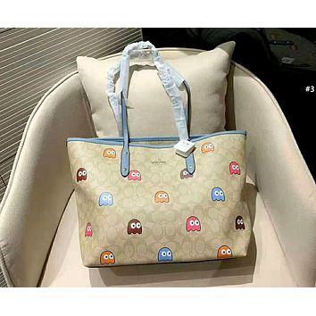 COACH 2019 new female personality personality wild shopping bag handbag shoulder bag Messenger bag #3