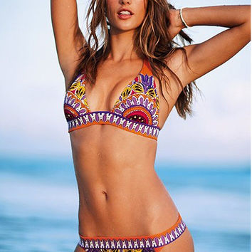 Hot Sexy Summer Beach Swimsuit New Arrival Ladies Swimwear Bikini [6048409729]
