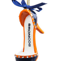 Denver Broncos Shoe Ornament