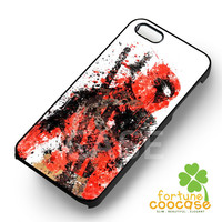 Deadpool painting - z3z for  iPhone 6S case, iPhone 5s case, iPhone 6 case, iPhone 4S, Samsung S6 Edge