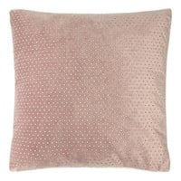 Star by Julien Macdonald Pink velvet diamante cushion