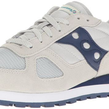 Saucony Originals Men's Shadow Original Sneaker Grey/Navy 9 D(M) US '