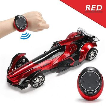 Intelligent Voice RC Equation Car 2.4G Voice Smart Watch Remote Control Racing Drift Vehicle